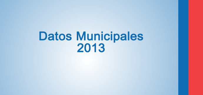 Datos Municipales 2013